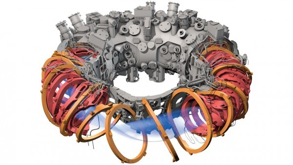 Dibujo20151104 Stellarator W7 X Germany Science News