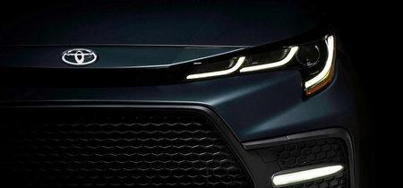 El Toyota Corolla Sedán 2020 se presentará esta semana: así luce en su primera imagen oficial