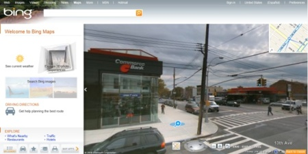 """Bing agrega recetas de cocina, búsqueda de enfermedades, y mapas con """"Street View"""" y PhotoSynth"""