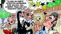 Mortadelo y Filemón llegan al álbum 200 enfrentándose a Bárcenas