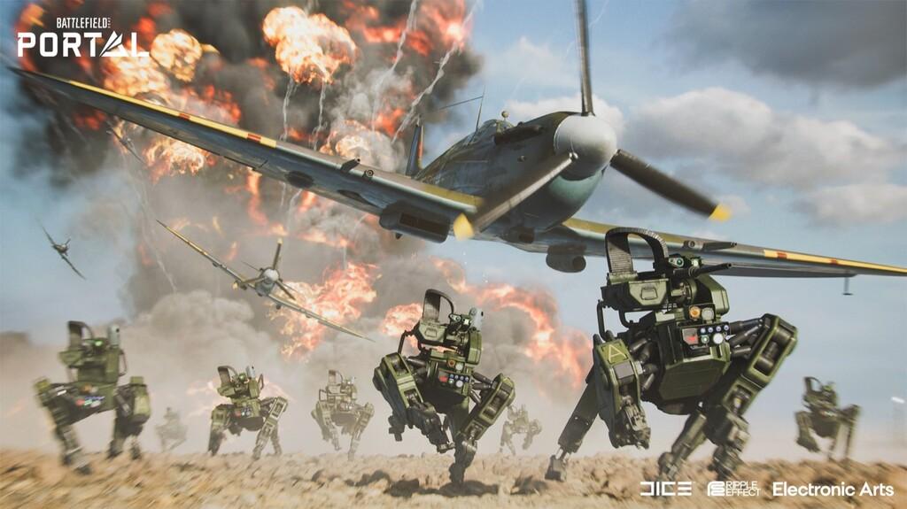 'Battlefield 2042' desvela Portal, un potente editor de niveles en el que se pueden combinar todo tipo de elementos de entregas anteriores