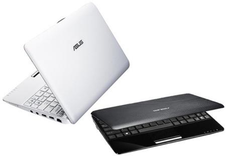 Asus Eee PC 1005PE y P, ultraportátiles con procesador Pinetrail