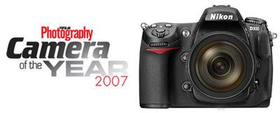 La Nikon D300, elegida la mejor cámara del año 2007