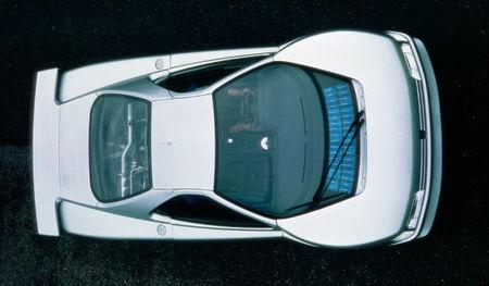 Peugeot Oxia, vista superior