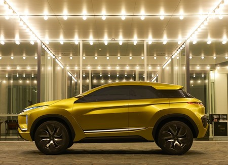 Mitsubishi eX concept, un SUV 100% eléctrico con 400 kilómetros de autonomía para Los Ángeles