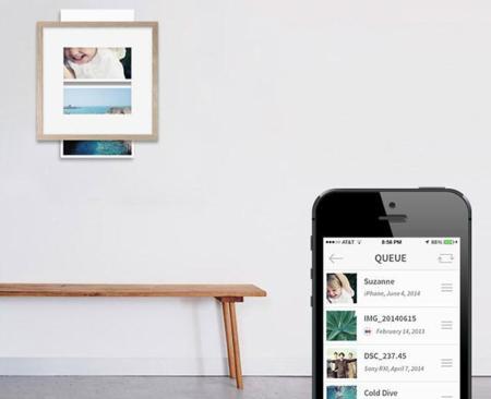 Wundershine integra una impresora en un marco para fotografías