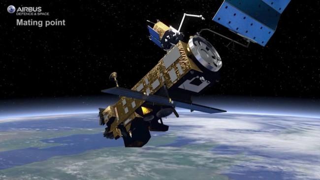 La ESA prepara e.Deorbit para combatir la basura espacial