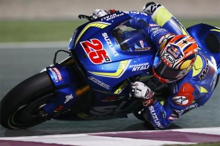Las Suzuki de MotoGP en Catar. ¿Desdibujadas o afilando el cuchillo?