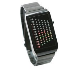 Reloj con Leds muy geek