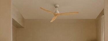 Nueve ventiladores de techo bonitos, eficientes y elegantes para no pasar calor este verano en casa