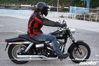 Harley Davidson Dyna Fat Bob, prueba (conducción en ciudad y carretera)