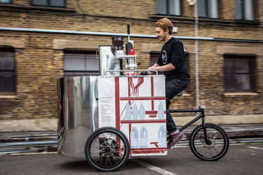Velopresso, un café sobre ruedas
