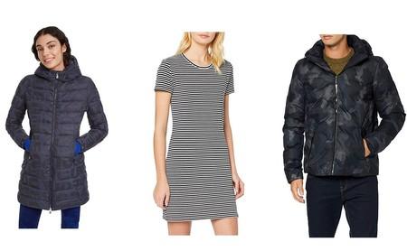 11 chollos en tallas sueltas de abrigos, camisetas o vestidos de marcas como Levi's, Superdry, Desigual o Helly Hansen en Amazon