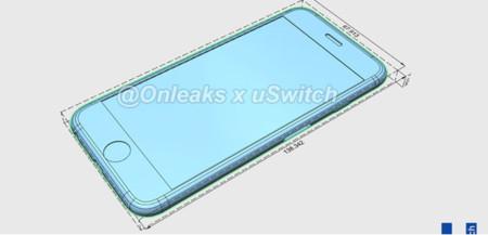 Supuestas medidas del iPhone 6s