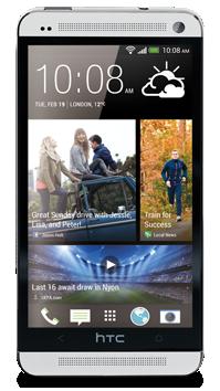 HTC One derecha