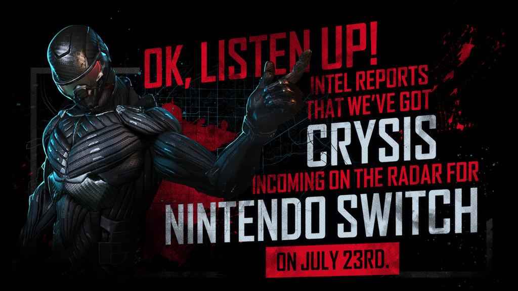 Crysis Remastered finalmente no retrasará su fecha de lanzamiento en Nintendo Switch y llegará a finales de julio