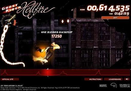 Ghost Rider, el juego