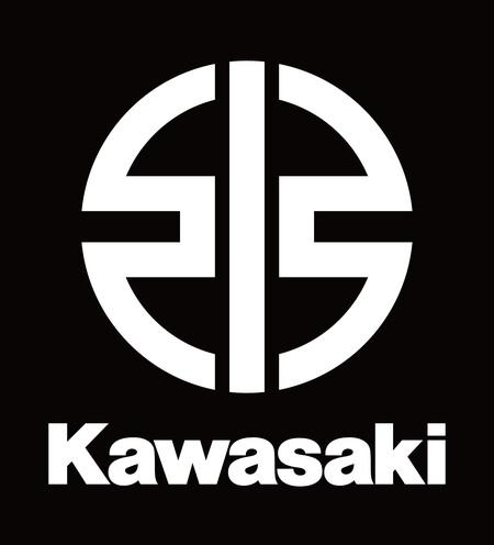 Hi Brand Symbol Kawasaki Vertical White Rgb