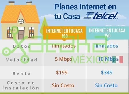 Internet Casa Telcel