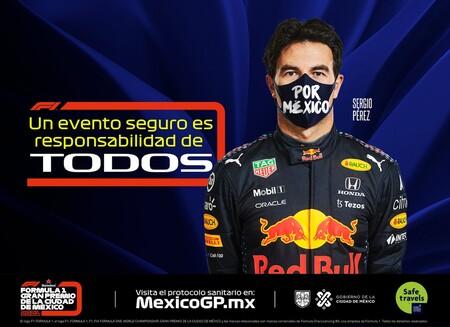 ¿Están listos para el Gran Premio de México? Este es el protocolo sanitario que debes cumplir