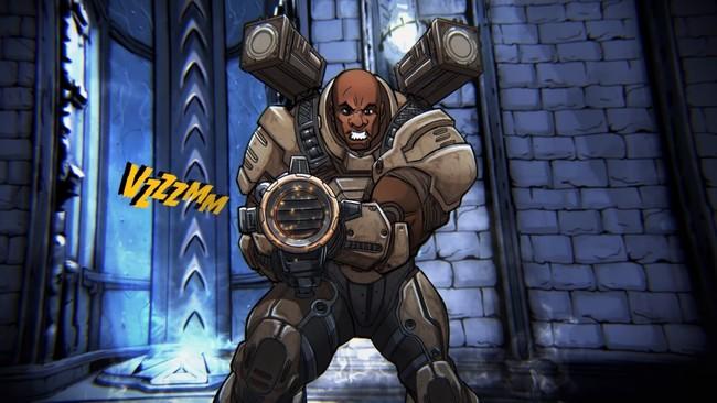 Quake Champions Keel