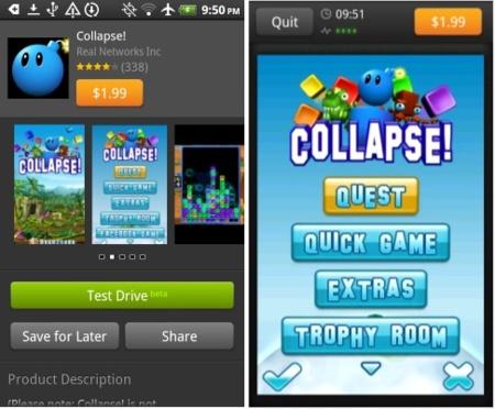 amazon app store demo prueba