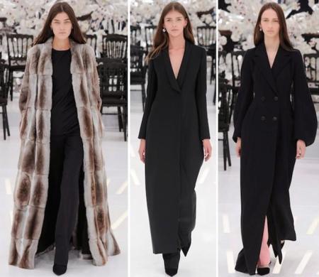 Christian Dior Haute Couture Abrigos Largos