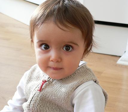 La foto de tu bebé: Esplendorosa mirada de Luna
