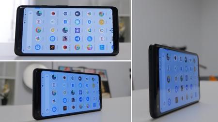 Pantalla azulada del Pixel 2 XL