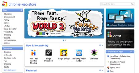Chrome Web Store: pagos dentro de las aplicaciones, Angry Birds, y disponible en español