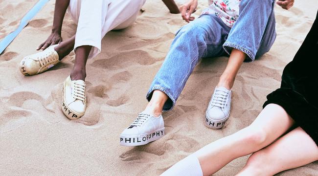 La última colaboración de Superga lleva a nuestros pies toda la elegancia de Lorenzo Serafini