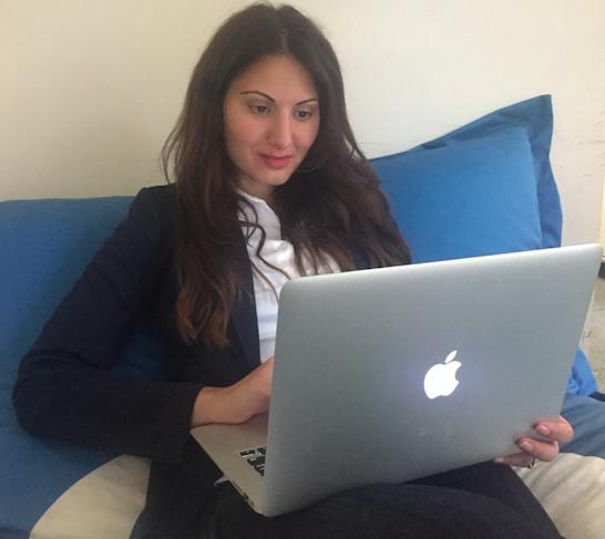 Violeta Delgado, teletrabajadora de Google