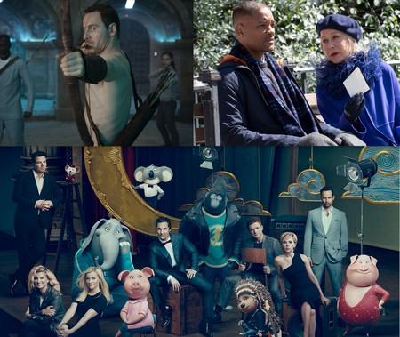 Estrenos de cine | 23 de diciembre | Fassbender asesino, estrellas almibaradas y animales cantarines