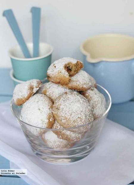 Galletas de nueces y mantequilla, receta sabrosa para la merienda