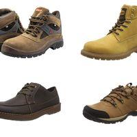 Ofertas en botas y zapatos de marcas como Dockers, Clarks o Columbia disponibles en tallas sueltas en Amazon