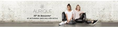 20% de descuento en la marca de ropa deportiva Aurique hasta el 25 de septiembre en Amazon