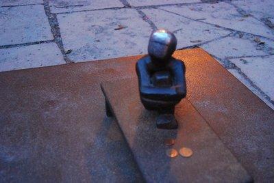 La escultura pública más pequeña de Estocolmo