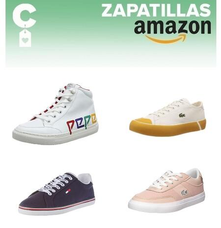 Chollos en tallas sueltas de zapatillas Tommy Hilfiger, Pepe Jeans o Lacoste en Amazon