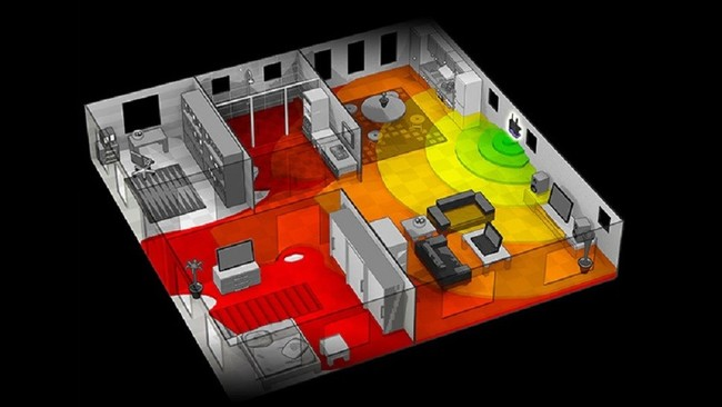Crea un mapa de cobertura del Wifi de tu casa con esta aplicación
