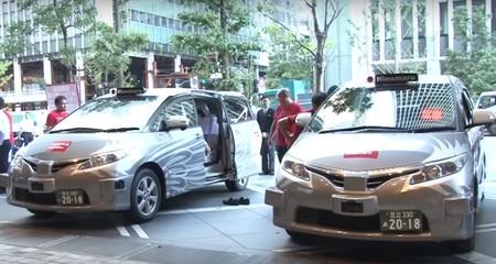 Una compañía de taxis tradicional ha puesto a rodar en Tokio el primer taxi autónomo con pasajeros