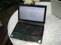 Sony VAIO TZ1, con un teclado que recuerda a...