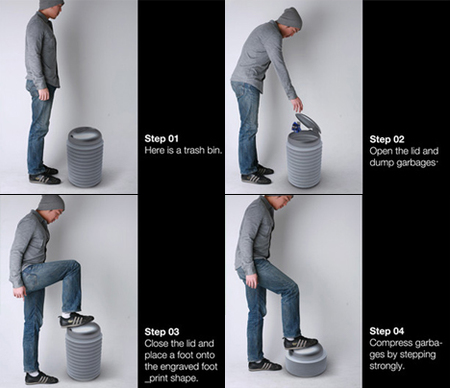 Armstrong Bin: comprime tu basura