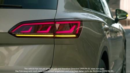 El último teaser del Volkswagen Touareg deja poco a la imaginación