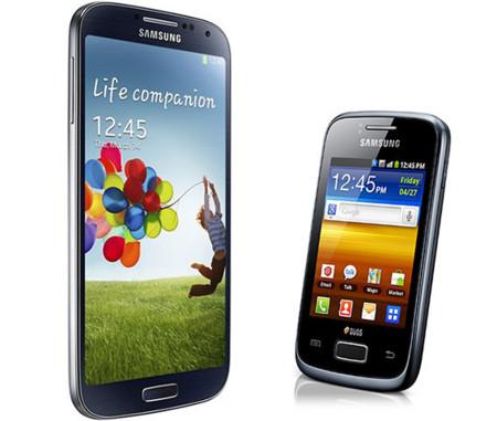 Samsung tiene un teléfono de 3.7 pulgadas en la retaguardia