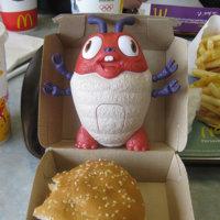 La comida rápida para niños, sin regalos