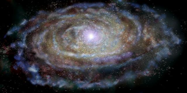[Vídeo] Recreación de cómo se vería el núcleo de una galaxia