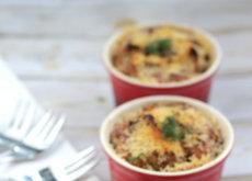 Recetas para toda la familia: soufflé de requesón y patatas, burritos vegetarianos y más cosas ricas