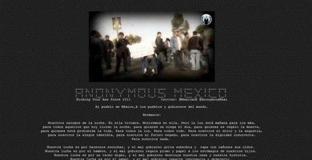 Anonymous hackea la página de la Sedena y amenaza con publicar información clasificada