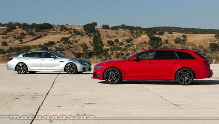 Audi RS 6 Avant - BMW M6 Gran Coupé