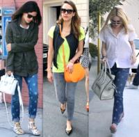 Las celebrities apuestan por los pantalones de estrellas